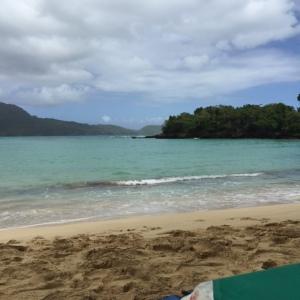 beach at rincon